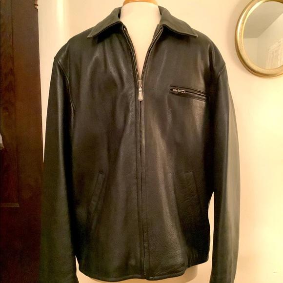 Vintage Winslet men's leather jacket